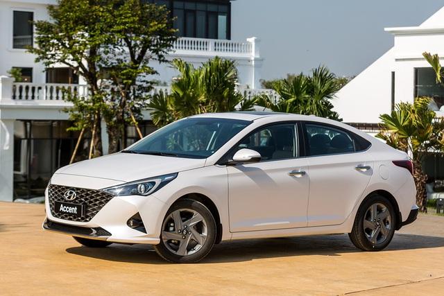 Loạt sedan hạng B giảm giá mạnh đón đầu Toyota Vios 2021 sắp ra mắt: Attrage và Ciaz bớt trước bạ, Accent hết kênh giá - Ảnh 7.