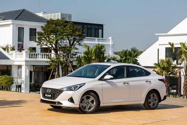 Chênh 116 triệu đồng, đây là sự khác biệt giữa 4 phiên bản Hyundai Accent 2021 tại thị trường Việt Nam - Ảnh 3.