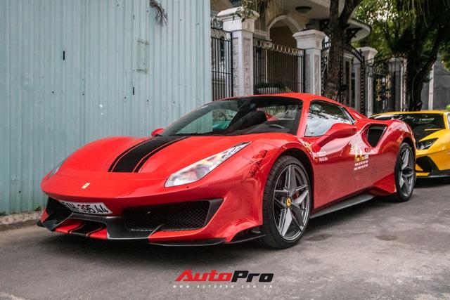 Khám phá Ferrari 488 Pista Spider của đại gia Hoàng Kim Khánh: Nhiều chi tiết như xe đua - Ảnh 1.