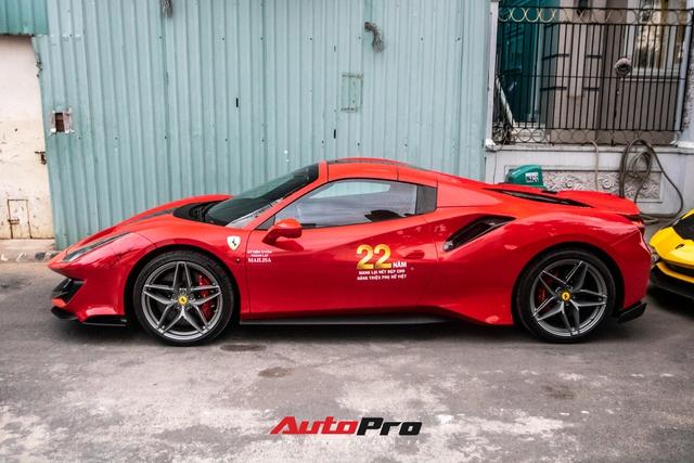 Khám phá Ferrari 488 Pista Spider của đại gia Hoàng Kim Khánh: Nhiều chi tiết như xe đua - Ảnh 4.
