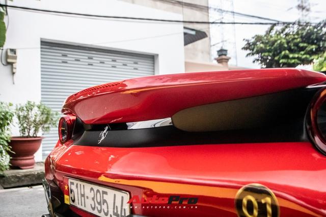 Khám phá Ferrari 488 Pista Spider của đại gia Hoàng Kim Khánh: Nhiều chi tiết như xe đua - Ảnh 10.