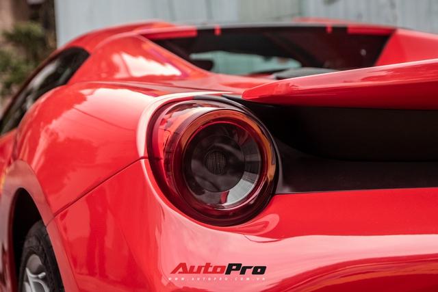 Khám phá Ferrari 488 Pista Spider của đại gia Hoàng Kim Khánh: Nhiều chi tiết như xe đua - Ảnh 9.