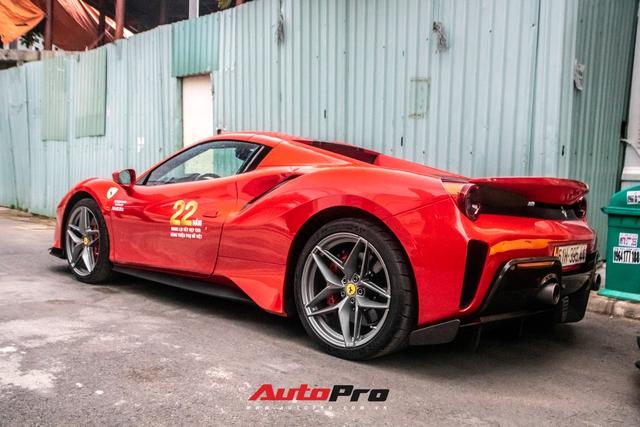 Khám phá Ferrari 488 Pista Spider của đại gia Hoàng Kim Khánh: Nhiều chi tiết như xe đua - Ảnh 7.