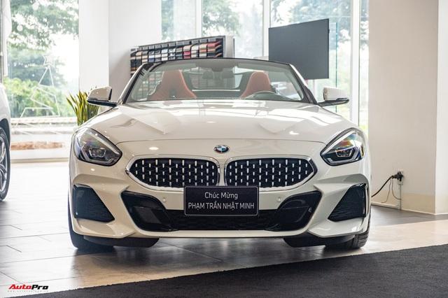Minh nhựa lần đầu cầm lái BMW Z4 giá hơn 3 tỷ đồng ra đường, tái ngộ doanh nhân Nguyễn Quốc Cường sau nhiều năm - Ảnh 3.