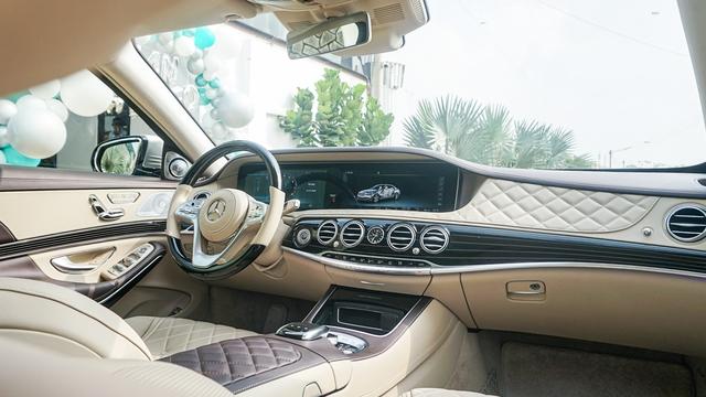 Doanh nhân Sài Gòn chi 12 tỷ mua Mercedes-Maybach S 560 màu xanh lục bảo siêu độc, tiết lộ thêm siêu phẩm chục tỷ sẽ mua trong thời gian tới - Ảnh 4.