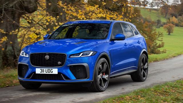 Jaguar F-Pace SVR 2021 giá hơn 10 tỷ đồng tại Việt Nam: SUV sang chảnh cho đại gia Việt mê tốc độ, tăng tốc 0-100 km/h chỉ trong 4 giây - Ảnh 1.