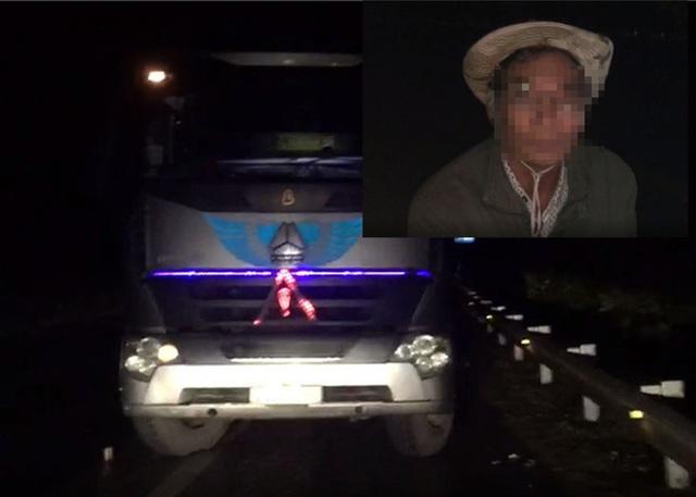 Lại xuất hiện tài xế xe tải đi ngược chiều trêncao tốc Nội Bài – Lào Caitrong đêm - Ảnh 1.