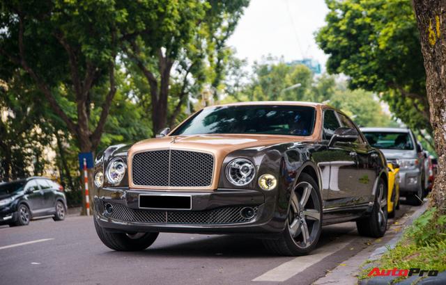 Chán màu sơn nguyên bản, đại gia Hà Thành đổi màu ngoại thất của Bentley Mulsanne để trở nên độc đáo hơn - Ảnh 7.