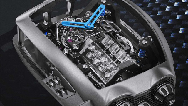 Đồng hồ Bugatti với giá ngang siêu xe mới - Ảnh 2.