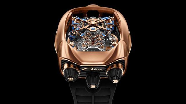 Đồng hồ Bugatti với giá ngang siêu xe mới - Ảnh 3.