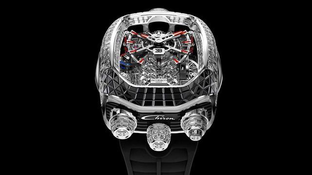 Đồng hồ Bugatti với giá ngang siêu xe mới - Ảnh 5.