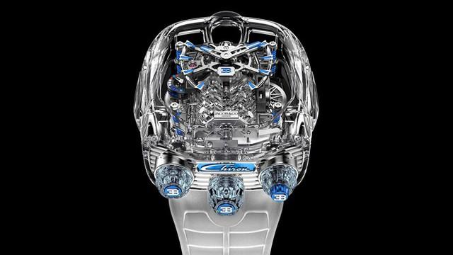 Đồng hồ Bugatti với giá ngang siêu xe mới - Ảnh 6.