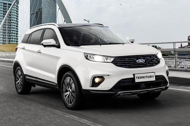 Ford EcoSport thế hệ mới lần đầu lộ điện: Mặt như SUV hạng C, đe nẹt lại Kia Seltos - Ảnh 2.