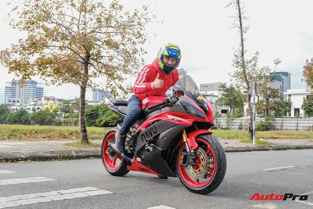 Chơi xe kiểu ngược đời: Đổi từ Kawasaki Z1000 xuống Yamaha R6 cũ nhưng Vlogger Navu tiết lộ lý do khiến ai cũng thấy thuyết phục - Ảnh 1.