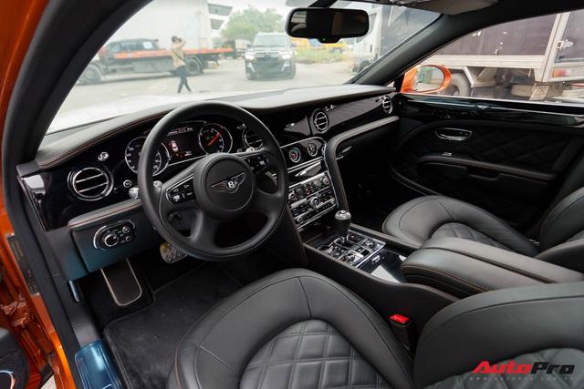 Bentley Mulsanne Speed độc nhất tại Việt Nam thay đổi diện mạo nhằm tìm kiếm chủ nhân - Ảnh 6.