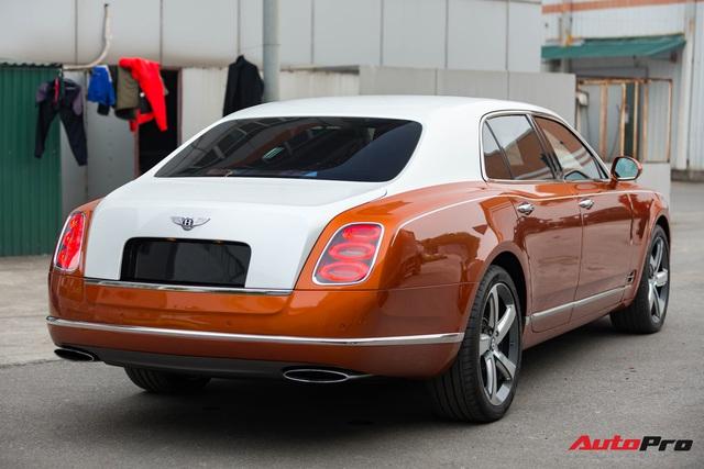 Bentley Mulsanne Speed độc nhất tại Việt Nam thay đổi diện mạo nhằm tìm kiếm chủ nhân - Ảnh 4.