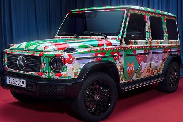 Cách chào đón Giáng sinh độc đáo của các hãng xe - Ảnh 1.