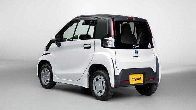 Ra mắt Toyota C*Pod - Ô tô 2 chỗ cho mẹ chở con đi học hoặc đi chợ, giá quy đổi 370 triệu đồng - Ảnh 3.