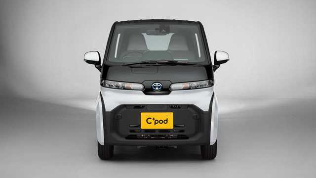 Ra mắt Toyota C*Pod - Ô tô 2 chỗ cho mẹ chở con đi học hoặc đi chợ, giá quy đổi 370 triệu đồng - Ảnh 1.