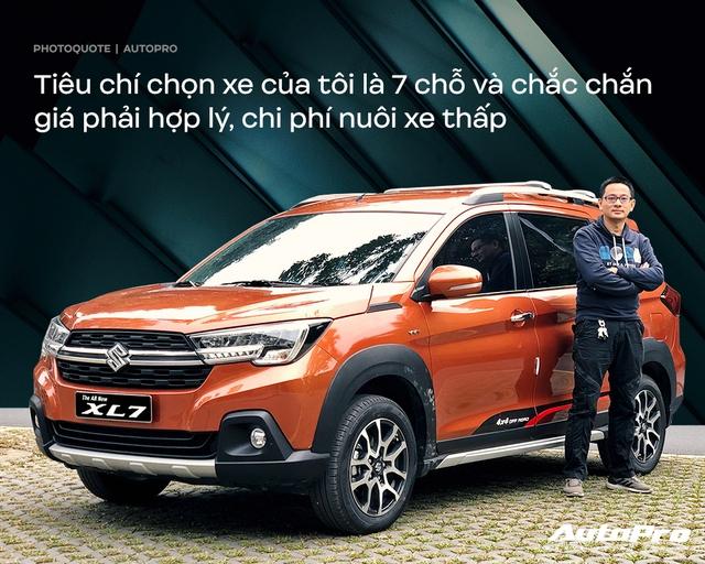 Giám đốc tài chính dùng Suzuki XL7 sau 4 tháng: Đủ dùng trong tầm giá - Ảnh 2.