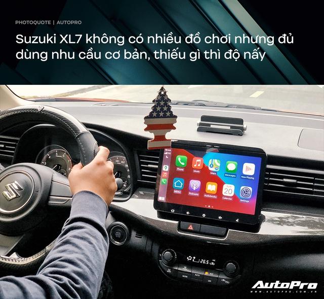 Giám đốc tài chính dùng Suzuki XL7 sau 4 tháng: Đủ dùng trong tầm giá - Ảnh 5.