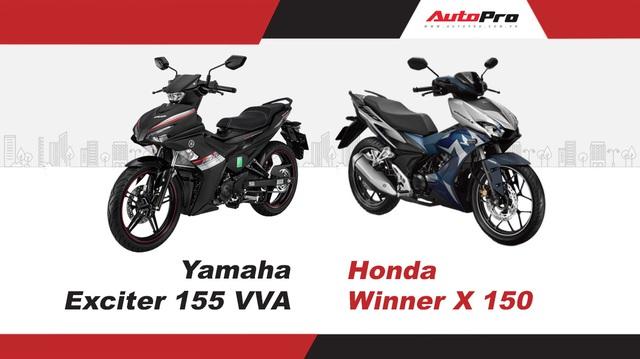 Yamaha Exciter 155 VVA vs Honda Winner X 150: Dưới 50 triệu, chọn động cơ mạnh hay có phanh ABS?