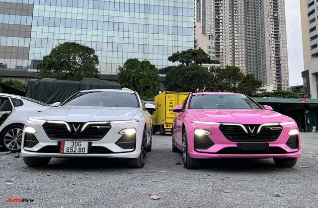 Nữ chủ nhân VinFast Lux A2.0 chi 35 triệu đồng độ nội thất full màu hồng, bầu trời sao độc nhất Việt Nam - Ảnh 8.
