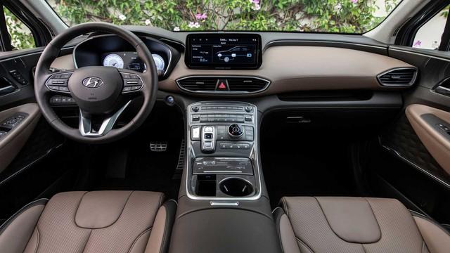 Hyundai Santa Fe 2021 tăng nhẹ giá bán, cao nhất lên tới gần 1 tỷ 200 triệu đồng khi quy đổi ra tiền Việt - Ảnh 4.