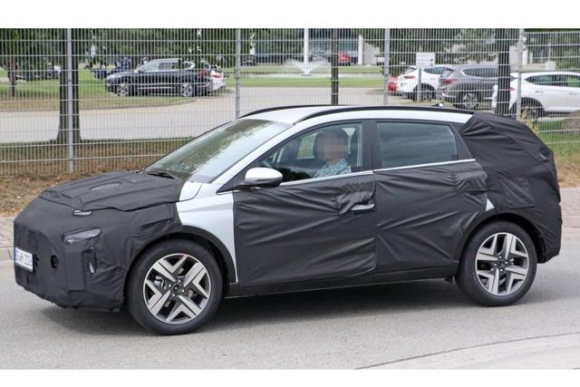 Xem trước Hyundai Bayon - SUV cỡ nhỏ hoàn toàn mới đẹp lung linh cạnh tranh Kia Sonet - Ảnh 3.