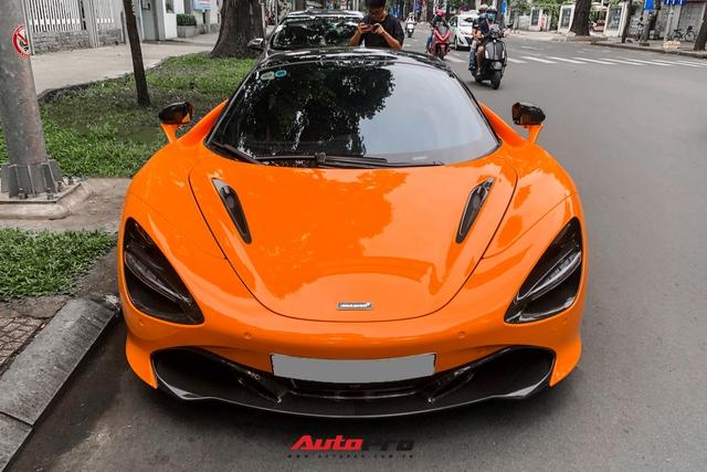 Nữ ca sĩ Đoàn Di Băng lần đầu cầm lái siêu xe McLaren 720S Spider chồng tặng lên phố - Ảnh 4.
