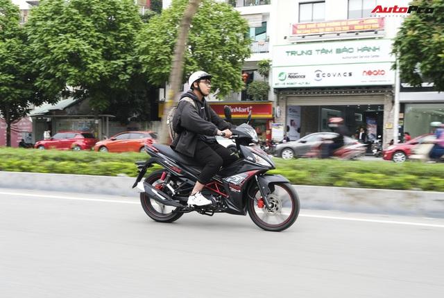 Đánh giá SYM Star SR 125 EFI - Xe côn tay rẻ nhất Việt Nam và những điều cần biết cho người nhập môn - Ảnh 11.