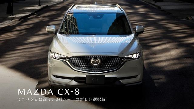 Ra mắt Mazda CX-8 2021: Giá quy đổi từ 1,05 tỷ đồng, phả hơi nóng lên Hyundai Santa Fe