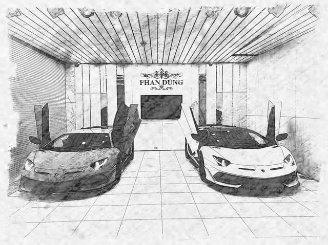 Lamborghini Aventador SVJ Roadster đầu tiên về Việt Nam chính thức lộ diện tại garage của đại gia Hà Thành - Ảnh 1.