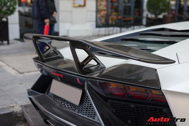 Lamborghini Aventador LP700-4 độ nhiều nhất Việt Nam xuất hiện tại Thủ đô tìm kiếm chủ nhân mới - Ảnh 4.