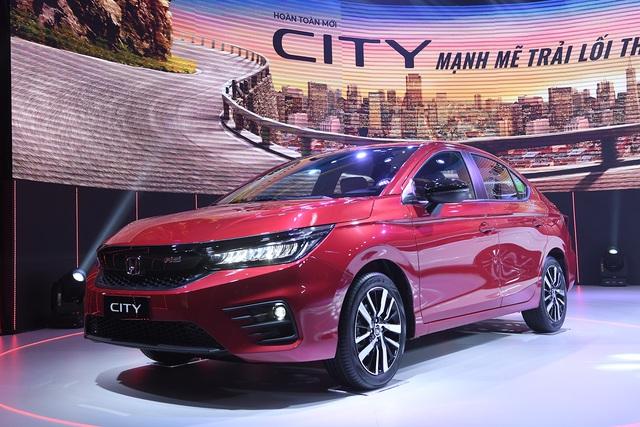 Ra mắt Honda City 2020 tại Việt Nam: Giá cao nhất 599 triệu, thay đổi toàn diện để bám đuổi Toyota Vios và Hyundai Accent - Ảnh 4.