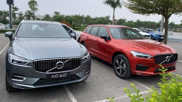 Volvo XC60 2021 về đại lý: 2 phiên bản, giá gần 2,2 tỷ, động cơ mạnh, nhiều 'đồ chơi' cạnh tranh Mercedes-Benz GLC - Ảnh 1.