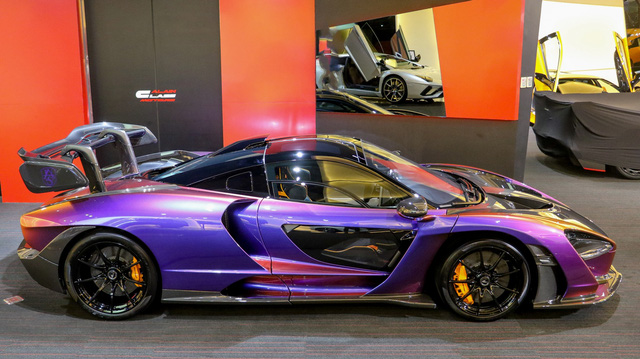 Đại gia Hoàng Kim Khánh đích thân mục sở thị McLaren Senna MSO tại Dubai: Xe chưa lăn bánh, sản xuất giới hạn, giá gần 2 triệu USD - Ảnh 3.