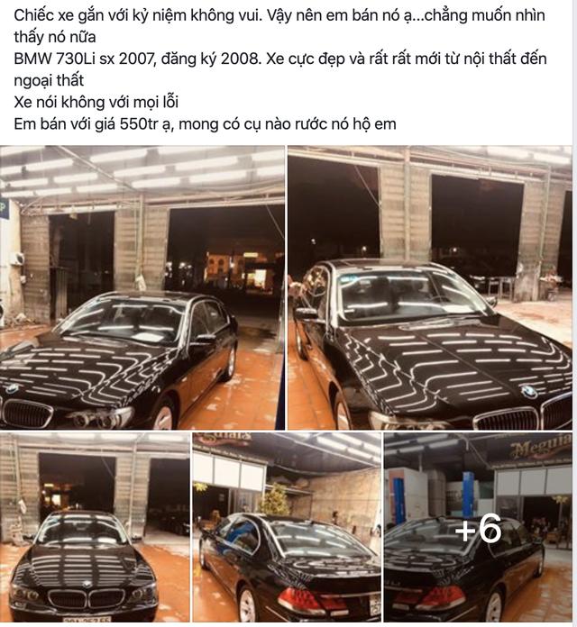 Bán BMW 7-Series ngang giá Toyota Vios số sàn, chủ xe than thở: Không muốn nhìn thấy xe nữa - Ảnh 2.