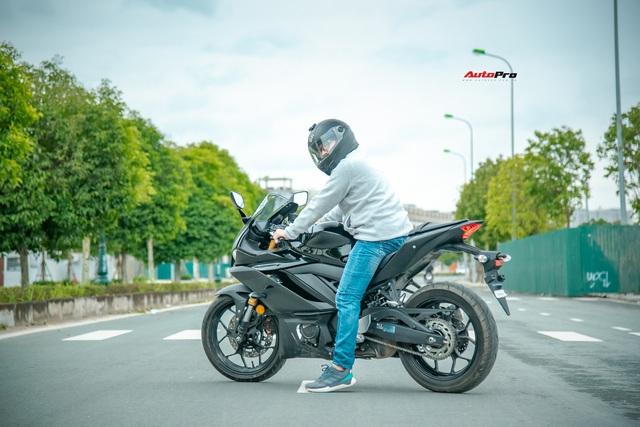 Yamaha YZF-R3 2020 giá 129 triệu đồng đầu tiên về Việt Nam: Sport-bike thuần chủng cho tài non - Ảnh 9.