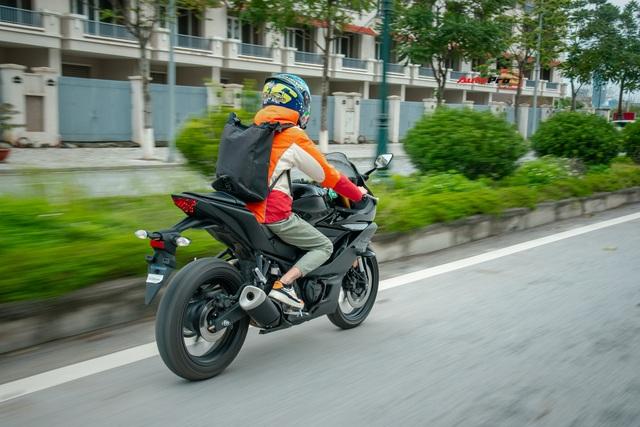 Yamaha YZF-R3 2020 giá 129 triệu đồng đầu tiên về Việt Nam: Sport-bike thuần chủng cho tài non - Ảnh 8.