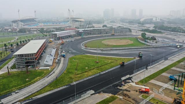 Đường đua F1 Hà Nội đã hoàn thành nhiều hạng mục, chuẩn bị đón những tay đua hàng đầu thế giới - Ảnh 4.