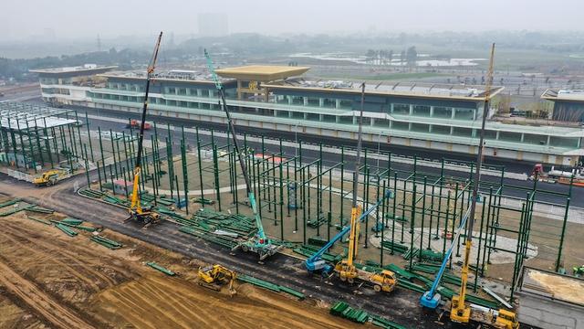 Đường đua F1 Hà Nội đã hoàn thành nhiều hạng mục, chuẩn bị đón những tay đua hàng đầu thế giới - Ảnh 5.