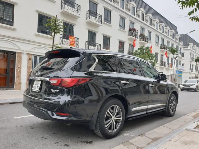 Bán Infiniti QX60 lỗ 1 tỷ sau 3 năm, chủ xe quảng cáo: Chạy sướng hơn Lexus RX350, xăng 12L/100km - Ảnh 2.