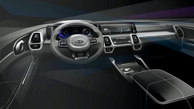 Kia Sorento 2020 lộ nội thất như xe sang nhưng cư dân mạng lại tìm ra được thông tin đáng giá hơn nhiều