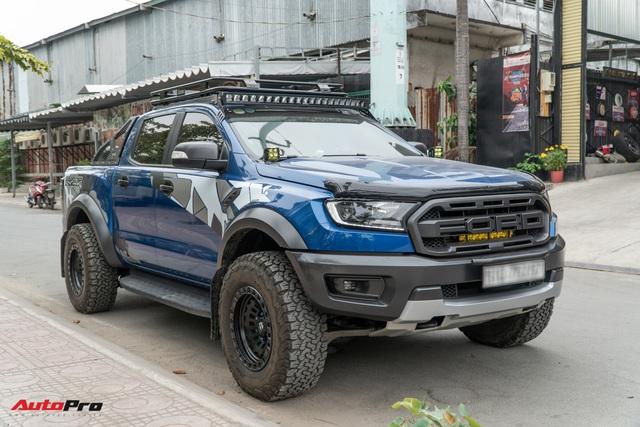 Ford Ranger Raptor của dân chơi Sài Gòn gắn dàn âm thanh trị giá 1,8 tỷ - Tiền độ đắt hơn tiền xe - Ảnh 6.