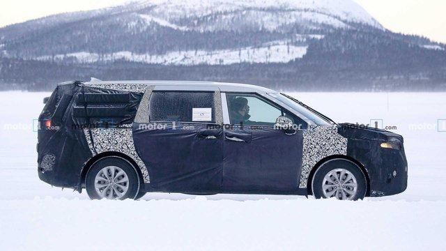 Kia Sedona thế hệ hoàn toàn mới đẹp như Range Rover sẽ ra mắt sớm hơn dự kiến - Ảnh 1.