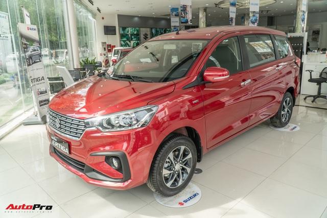 Chi tiết Suzuki Ertiga 2020 tại đại lý - Xe 7 chỗ rẻ nhất Việt Nam thêm trang bị cạnh tranh Xpander - Ảnh 2.