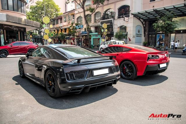 Không hổ danh 'Thánh địa siêu xe Sài Gòn', nơi đây chưa bao giờ hết náo nhiệt với dàn xe trị giá gần 40 tỷ đồng - Ảnh 8.