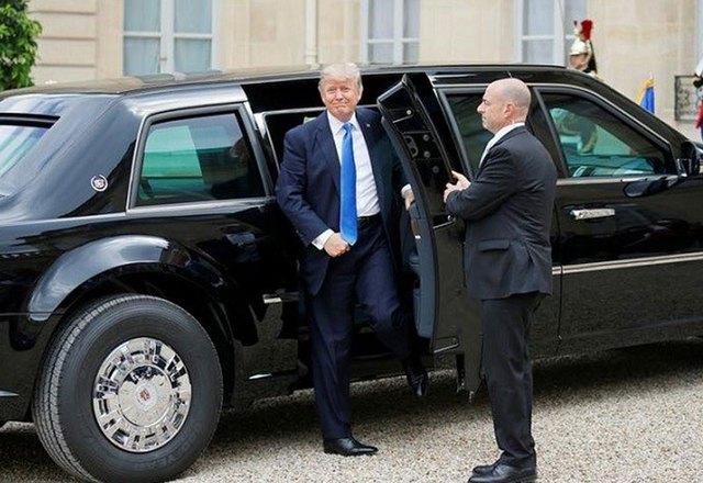 Donald Trump muốn đưa Quái Thú The Beast lên đường đua - Tổng thống Mỹ đầu tiên làm chuyện này - Ảnh 3.