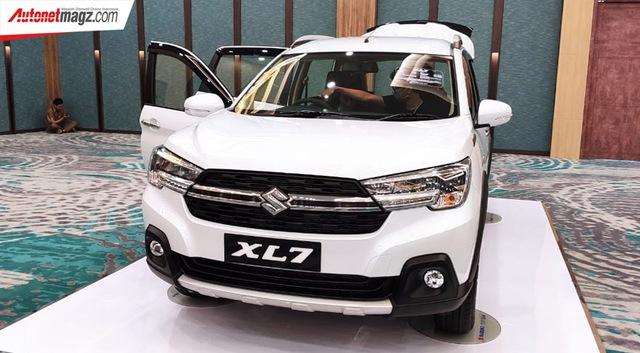 Ra mắt Suzuki XL7 - SUV của Ertiga đấu vua doanh số Xpander - Ảnh 4.